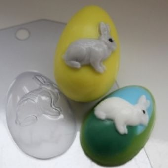 Яйцо Кролик - пластиковая форма